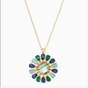 Kate Spade Peacock Way Mini Pendant Necklace